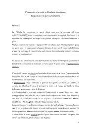 Interiorità e carità - Suore Francescane Elisabettine