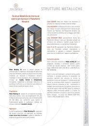 STRUTTURE METALLICHE - Strutture acciaio ascensori
