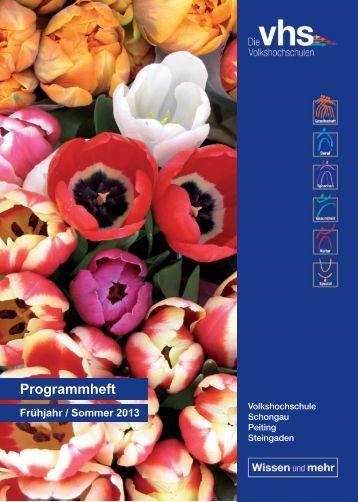 Programmheft Download - VHS Schongau