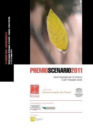 scarica il libretto (.pdf) - Associazione Scenario
