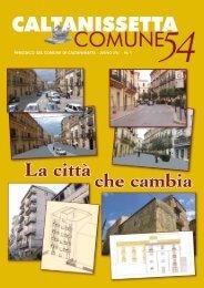 Giornale Comune n.54 - Comune di Caltanissetta