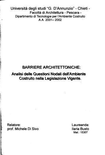 Tesi Busto.pdf - Università Gabriele d'Annunzio