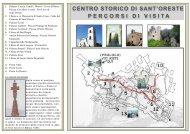 centro storico di sant'oreste percorsi di visita - Pro Loco