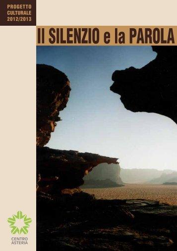 Il SILENZIO e la PAROLA - Centro Asteria