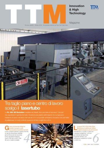 TTM Magazine N°4 (IT) - Tube Tech Machinery