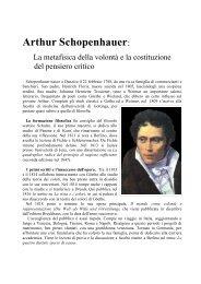 Schopenhauer: La filosofia della volontà.pdf - Liceo Trebisacce ...