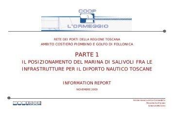 Parte 1 – Il posizionamento del Marina di Salivoli fra le infrastrutture ...