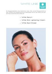 WHITE LINIE - vhv beauty group