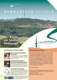 Newsletter 01/2013 - Region Hesselberg