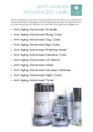 ANTI AGING ADVANCED LINIE - vhv beauty group