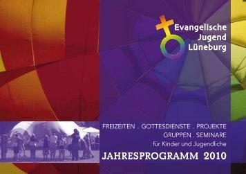 JAHRESPROGRAMM 2010 - Kirche & Diakonie Lüneburg