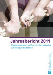 Jahresbericht 2011 - Kirche & Diakonie Lüneburg