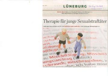 Therapie für junge Sexualstraftäter - Kirche & Diakonie Lüneburg