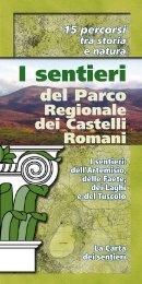 I sentieri - Parco Regionale dei Castelli Romani