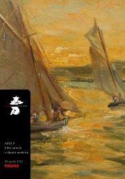 Scarica il catalogo - Libreria Antiquaria Gonnelli