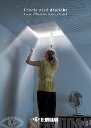 Luxstat LED wireless lightning Control - Servodan A/S