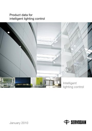 Product data for intelligent lighting control January 2010 ... - Innomatic