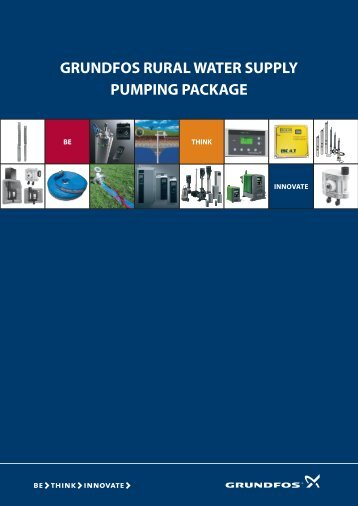 grundfos rural water supply pumping package - greenlife.com.vn