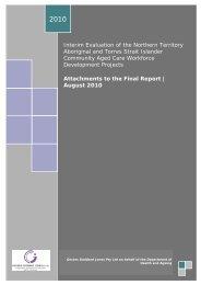 PDF printable version of Interim Evaluation of the Northern Territory ...