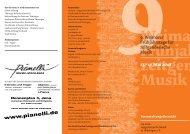 Flyer - via nova - zeitgenössische Musik in Thüringen eV