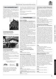 Heimat kennenlernen - Volkshochschule Garmisch-Partenkirchen