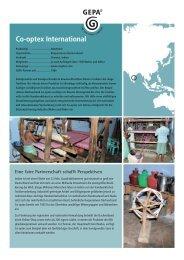 Co-optex International (JL).indd - Fair Trade