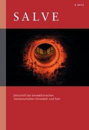 SALVE Nr. 6/2012, PDF - Susann Bosshard-Kälin