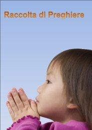 Raccolta preghiere varie - Devozioni