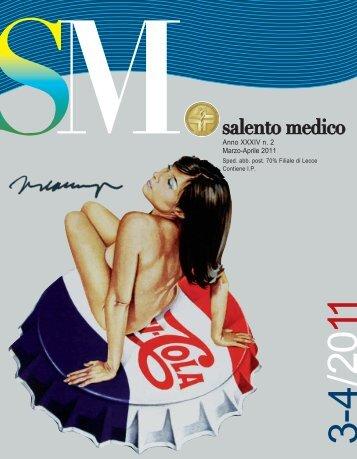 Anno XXXIV n. 2 Marzo-Aprile 2011 - Ordine dei Medici Lecce