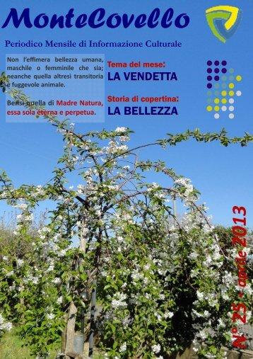 aprile 2013—riproduzione riservata - Montecovello News