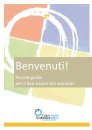 Guida volontari Progetto Coach - Centro Servizi Volontariato Trentino