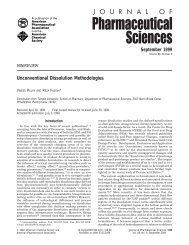 Unconventional dissolution methodologies - Wiley Online Library