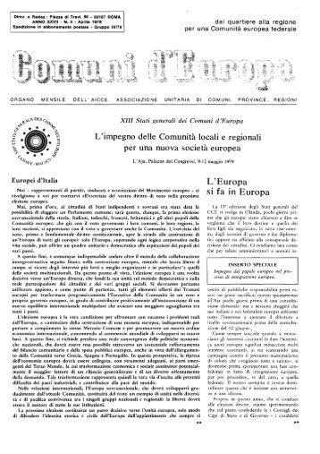 Anno XXVII Numero 4 - renatoserafini.org