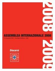 ASSEMBLEA INTERNAZIONALE 2008 - Rotary International