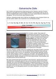 Die galvanische Zelle (pdf)