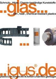 Kunststoff-Lösungen für die Glasindustrie - Igus