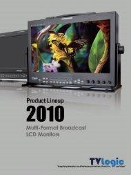 HD/SD Multi-Format LCD Monitors LVM-071W - Videor