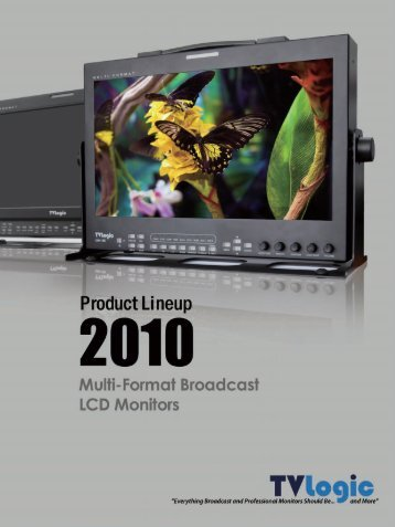 HD/SD Multi-Format LCD Monitors LVM-071W - Videor