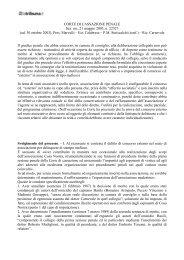 sentenza 30 ottobre 2002-21 maggio 2003, n - La Tribuna