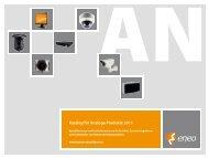 Katalog für Analoge Produkte 2011 - Videor