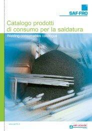 Catalogo consumabili 2012