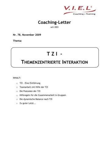TZI - Themenzentrierte Interaktion - compass business coaching