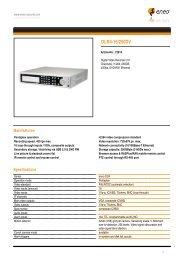 DLR4-16/250DV - Videor