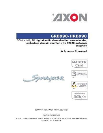 GRB990-HRB990 - Videor