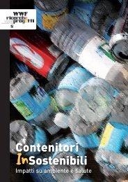 Contenitori InSostenibili - WWF Ricerche e Progetti