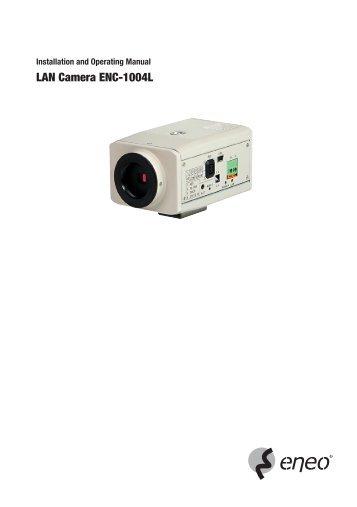 LAN Camera ENC-1004L - Videor