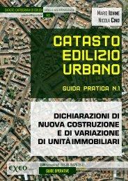 Catasto edilizio Urbano - guida pratica n. 1 - dichiarazioni di ... - Exeo