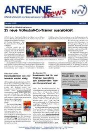 25 neue Volleyball-Co-Trainer ausgebildet - NVV