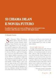 SI CHIAMA DILAN E NON HA FUTURO - Volontariato Lazio