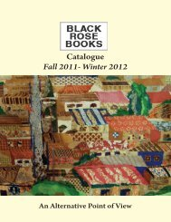 Catalogue Fall 2011- Winter 2012 - Black Rose Books